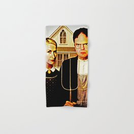 Dwight Schrute & Angela Martin (The Office: American Gothic) Hand & Bath Towel
