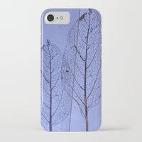 leaf iPhone & iPod Cases featuring leaf by Bunny Noir