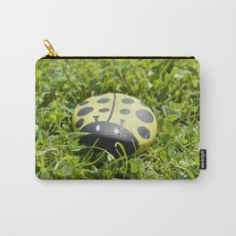 yellow ladybug Carry-All Pouch