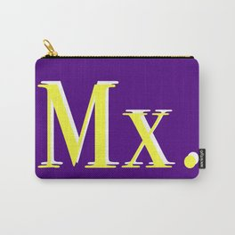 Mx. in Colour Carry-All Pouch
