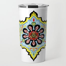 Alright linda belcher mandala kaleidoscope Travel Mug