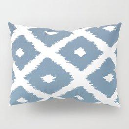 Ikat Linocut Pillow Sham