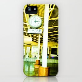 Weather going fast. iPhone Case