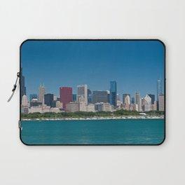 Chicago Skyline Panorama Laptop Sleeve