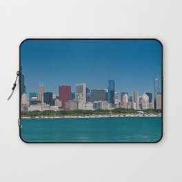 Chicago Skyline Panorama Laptop Sleeve