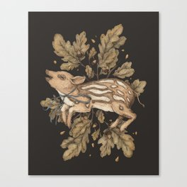 Almost Wild, Foundling Canvas Print