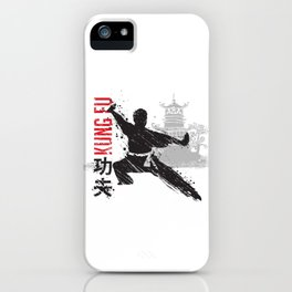 Kung Fu iPhone Case