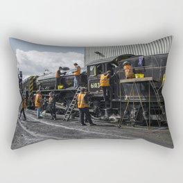 Many Hands make light work Rectangular Pillow