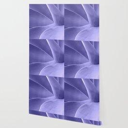 Periwinkle Succulent Wallpaper