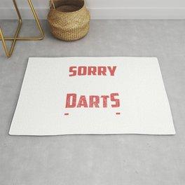 Dart Player Darts Season Tournament Gift Rug