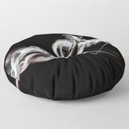 atmospheric portraits - v1 Floor Pillow