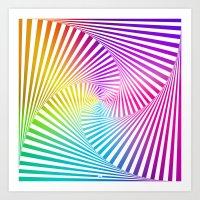 Twista Colour Art Print