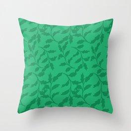 Bonny leaves Throw Pillow