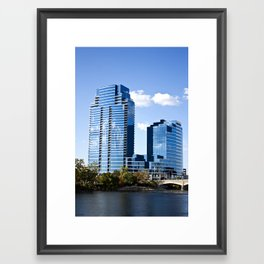 Grand Rapids Buildings II Framed Art Print