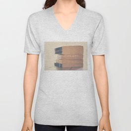 no two persons ever read the same book Unisex V-Neck