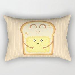 Hug the Butter Rectangular Pillow
