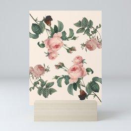 Rose Garden Butterfly Pink Mini Art Print