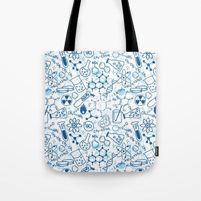 School chemical pattern #2 Tote Bag