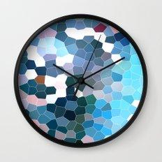 Pattern 7 - Flyin' Blues Wall Clock
