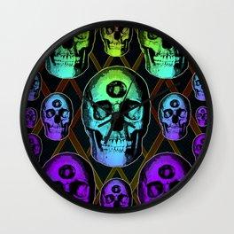 Skulluminati Wall Clock