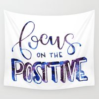 focus Wall Tapestries featuring Focus by Chrystal Elizabeth