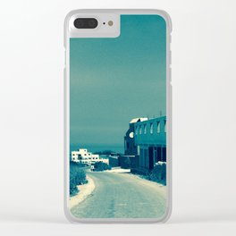 Morocco road I Clear iPhone Case