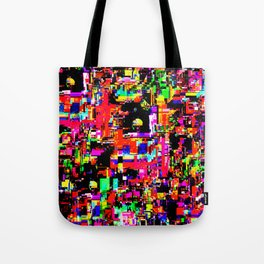 Glitchy itchy 1 Tote Bag