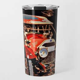 Vintage Red Car Travel Mug