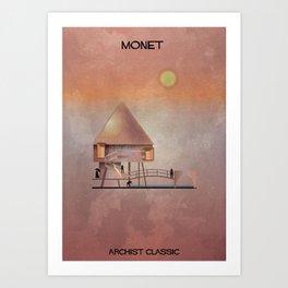 017_claude monet_Archistclassic Art Print