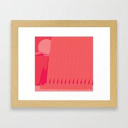 Are you ready feet? Framed Art Print