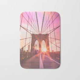 NYC Brooklyn Bridge Bath Mat