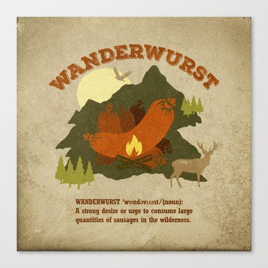 WanderWurst Canvas Print