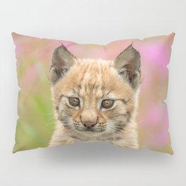 Falk - the lynx kitten Pillow Sham