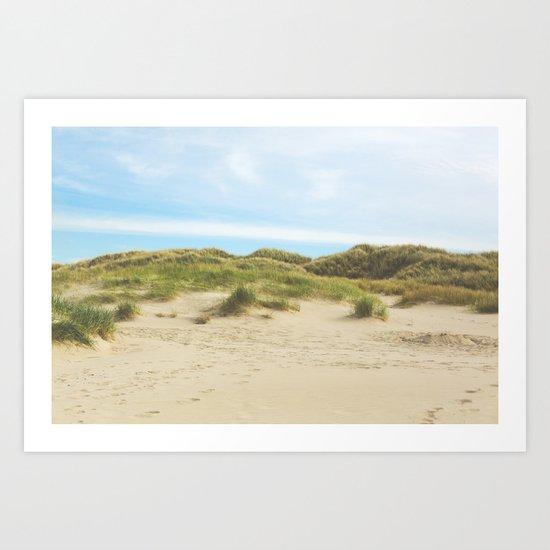 Oregon Dunes Art Print