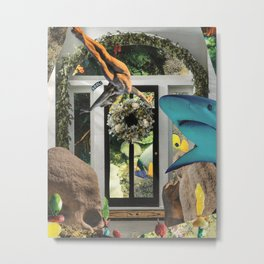 Unwanted Soliciting  Metal Print