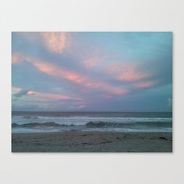 Fire Opal Sky Canvas Print