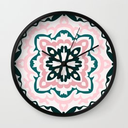 Tribal Art Print Wall Clock