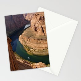 The Colorado River at Horse-shoe Bend Stationery Cards