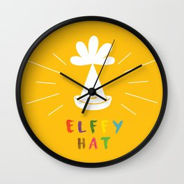 Let's start the party Wall Clock