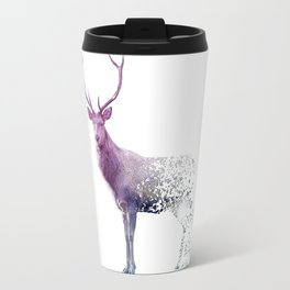 Deer Falling Apart Travel Mug