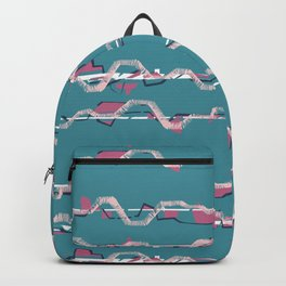 Blue City lines Backpack