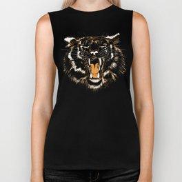 Roar Tiger Biker Tank