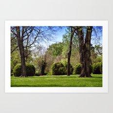 Berkeley Grounds No. 1 Art Print