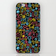 Galore (black version) iPhone & iPod Skin