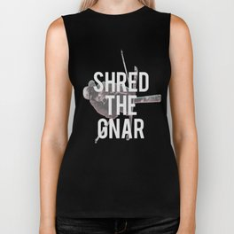 Shred The Gnar (Winter Edition) Biker Tank