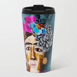 Frida and the Owl Travel Mug