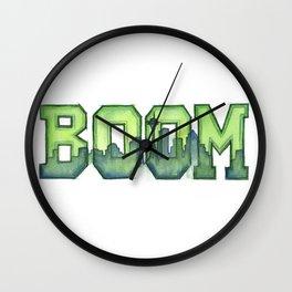 Legion of Boom Seattle 12th Man Art Wall Clock
