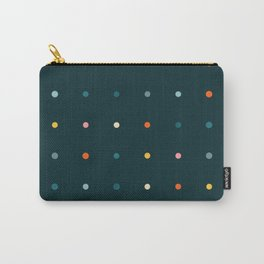 Pegboard of festive dots Carry-All Pouch