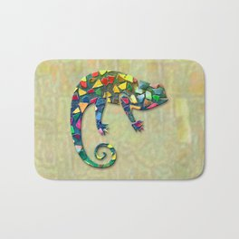 Animal Mosaic - The Chameleon Bath Mat