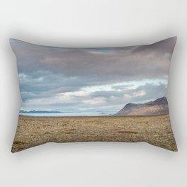 Glacier Fields of Iceland Rectangular Pillow